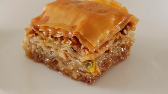 Greek baklava recipe allrecipes photo of greek baklava by neonwillie forumfinder Image collections