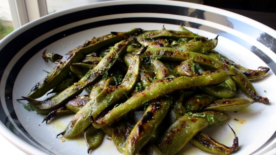 Photo of Grilled Fava Beans by Chef John