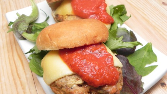 Photo of Chicken Parmesan Burger by Jackie Harroll