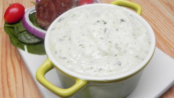 Photo of Super Garlicky Paleo Tzatziki by Natasha Farrell