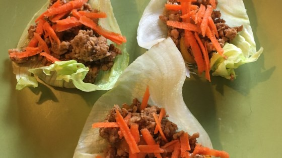 Photo of Chicken Lettuce Wraps by tierncooks