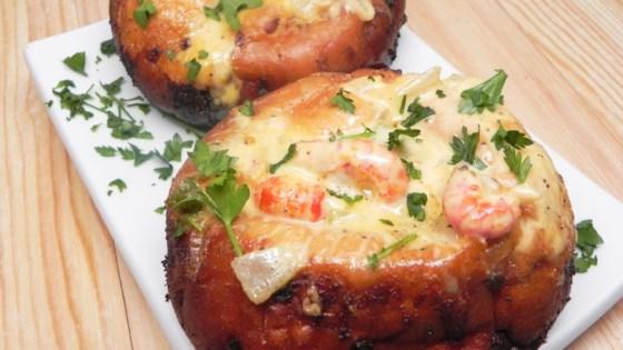 Photo of Cramer Family Stuffed Crawfish Bread by vikiarei