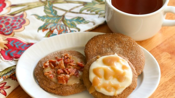 Photo of Iced Ginger Cookies by Culinary Envy