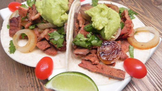 Traditional Mexican Street Tacos
