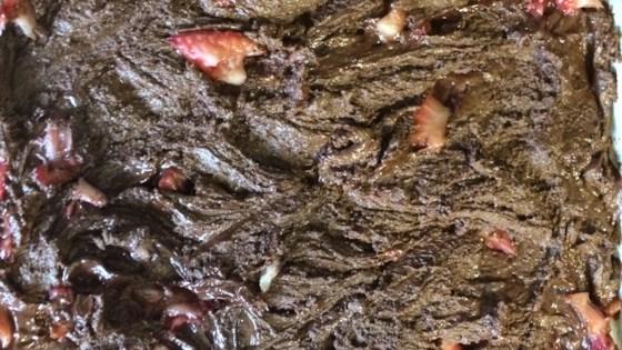 Photo of Peanut Butter, Marshmallow, Dark Chocolate, Strawberry, and Nutella® Bark by Aryanna