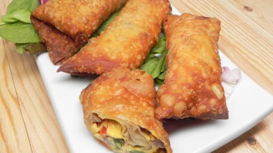 Steak and Cheese Egg Rolls Recipe