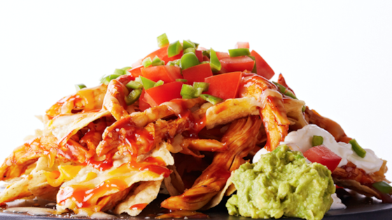 Photo of Loaded BBQ Chicken Nachos Recipe by Bite Me More