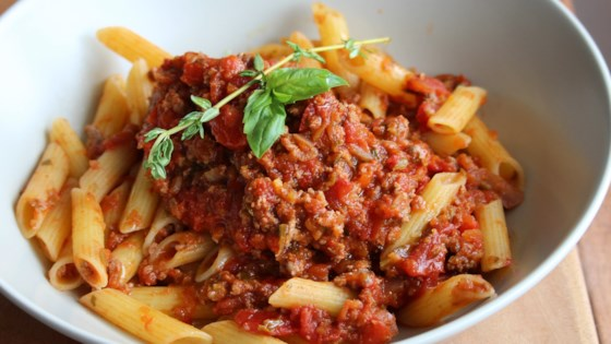 Photo of Cubanelle and Veal Bolognese by Cindy Anschutz Barbieri