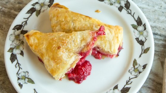 Fresh Raspberry Turnovers Recipe