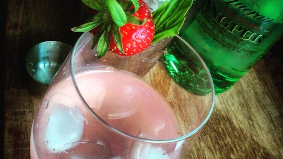 Photo of Strawberry-Gin Cocktail by Monica Joy