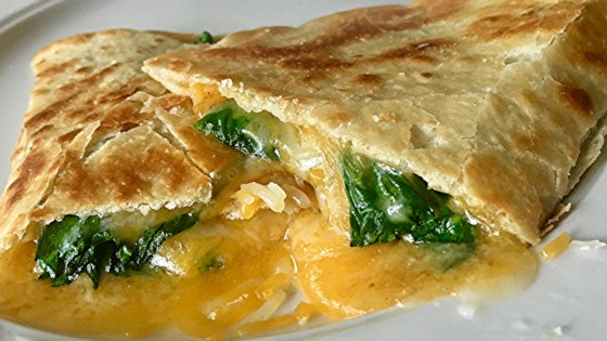 Photo of Spinach Whole Wheat Quesadillas by Tracy X