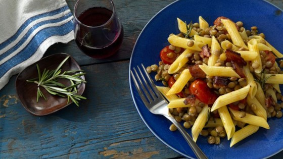 Photo of Barilla® Gluten Free Penne with Lentils & Bacon by Barilla Canada