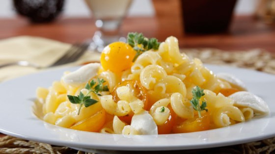 Photo of Barilla® Gluten Free Elbows Pasta Salad with Yellow Cherry Tomatoes, Fresh Oregano & Baby Mozzarella by Barilla Canada