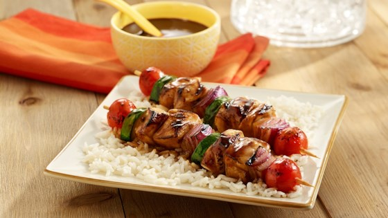 Photo of Grilled Chicken Kabobs by Uncle Ben's