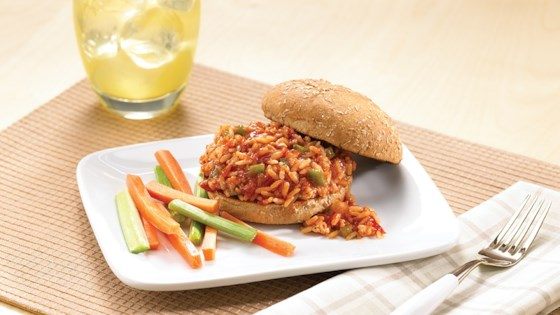 Photo of Chicken Brown Rice Sloppy Joes by Uncle Ben's