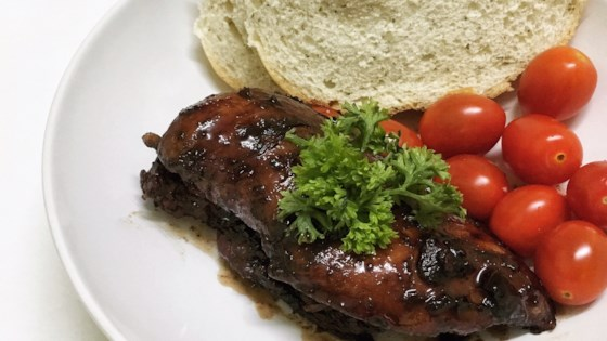 Photo of Chicken and Red Wine Sauce by Robin