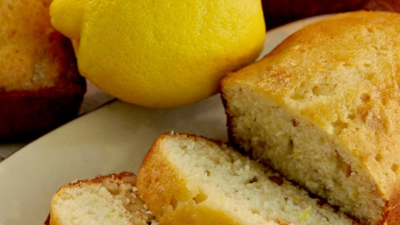 Photo of Yummy Lemon Bread by v monte