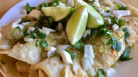 Photo of Authentic Enchiladas Verdes by PattiVerde