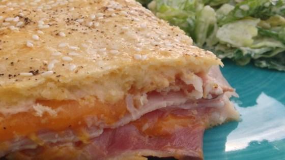 Photo of Ham and Cheese Slab Pie by Christina Salinas