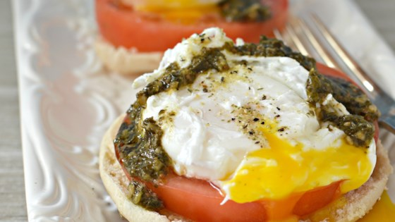 Photo of Poached Eggs Caprese by Yoojin K