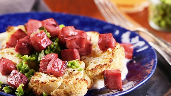 Photo of Roasted Cauliflower with Ham and Gouda by Pure Farmland