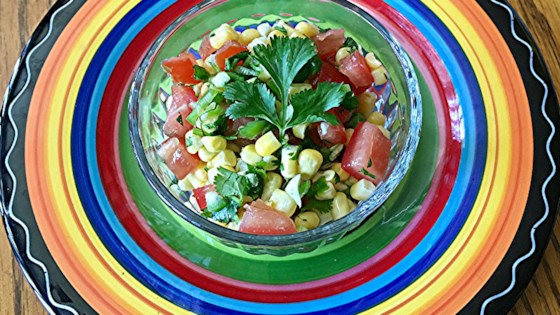 Photo of Fresh Corn Relish or Salsa by MYMOMSTHEBESTCOOK
