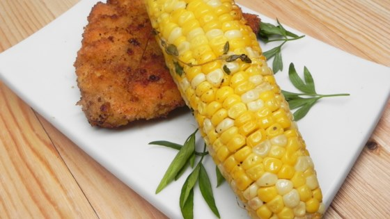Grilled Herbed Corn on the Cob