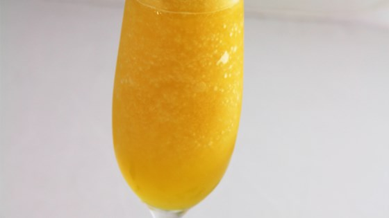 Photo of Frozen Mango Bellini by Cocktail Jim