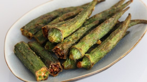 Photo of Spicy Air-Fried Okra by Buckwheat Queen