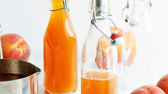 Photo of Honeyed Peach Pancake Syrup by foodinjars (Marisa McClellan)
