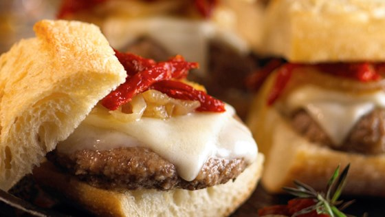 Photo of Provolone Meatball Sliders by BelGioioso