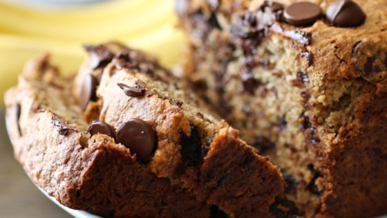 Photo of Banana Chocolate Chip Bread by iggytakahashi