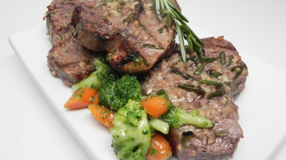 Photo of Grilled Leg of Lamb Steaks by nichole
