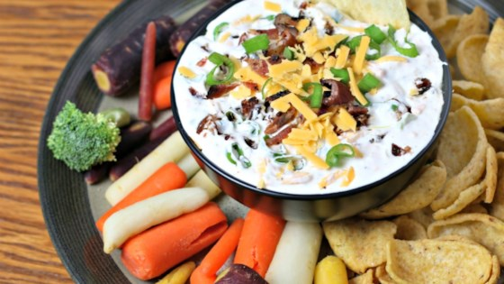 Photo of Bacon Cheddar Ranch Dip by Culinary Envy