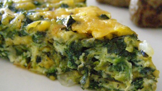 Photo of Crustless Spinach Quiche by ANY14TNS