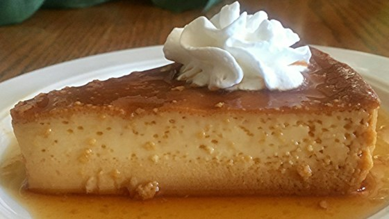 Super Easy Cream Cheese Flan