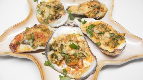 Char-grilled Oysters Recipe - Allrecipes com