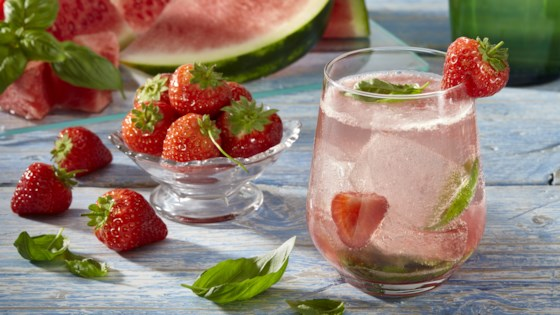 Photo of Strawberry Watermelon Agua Fresca by Wholesome