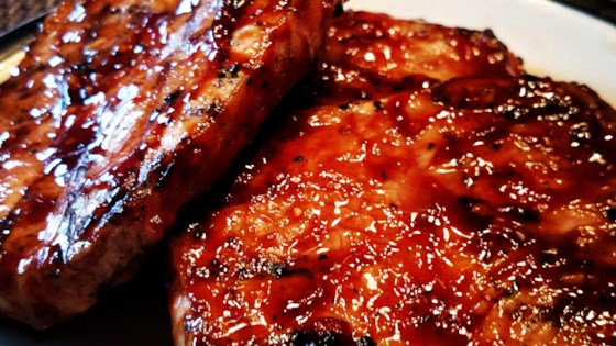 World's Best Honey Garlic Pork Chops Recipe