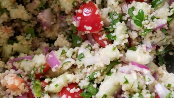 Whole Wheat Couscous Tabbouleh