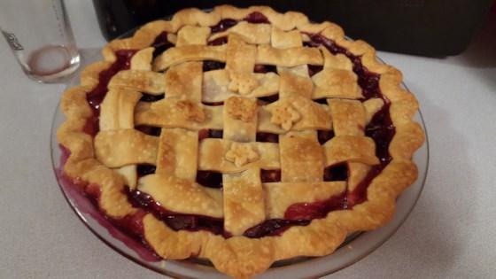 Photo of Amazing Blueberry Rhubarb Pie by Katy Smith