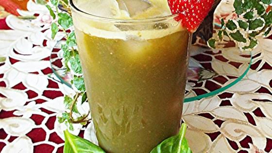 Spinach Strawberry Agua Fresca