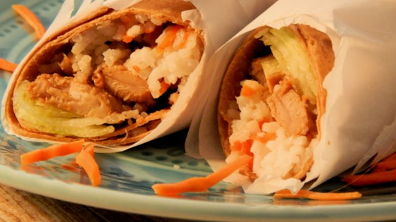 Photo of Honey Garlic Chicken Wraps by LELIZABETHS