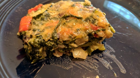 Photo of Spinach Veggie Casserole by LGUROWITZ