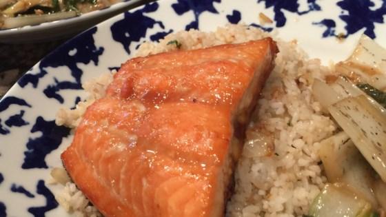 Photo of Orange Soy-Glazed Salmon by jjackson