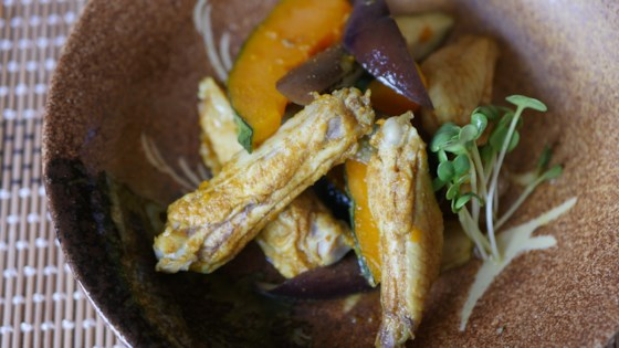 Photo of Steamed Chicken Curry with Kabocha by Pearl Ishizaki