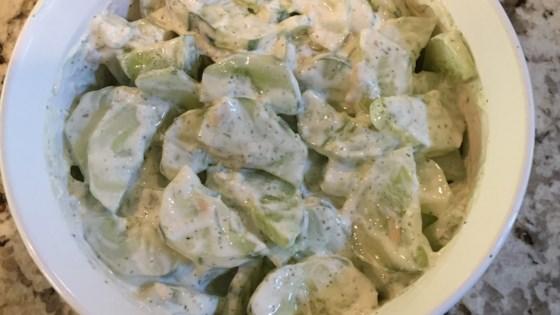 Photo of Cucumber Salad by HAIRGODDESS