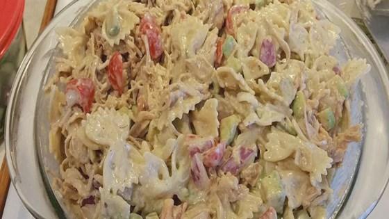 Photo of Best Chicken Pasta Salad by DPW