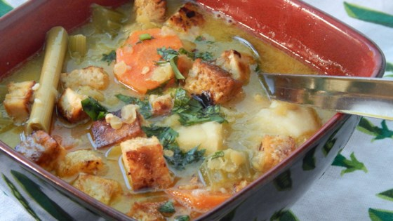 Photo of Vegetable Tofu Soup with Lemongrass and Coconut Milk by Uncle Jeffy
