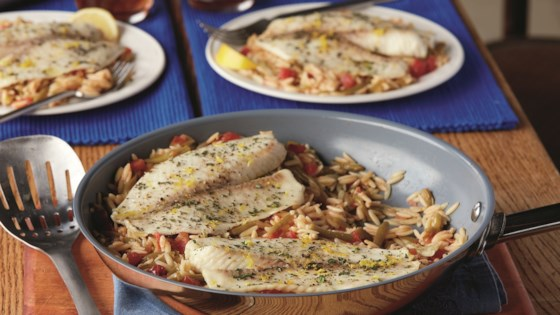 Photo of Lemon & Herb Fish Skillet by Del Monte